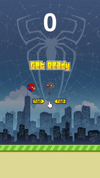 Flappy Spider Bird