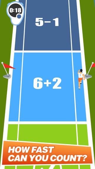 Keen Sprinter: Cool Math Game