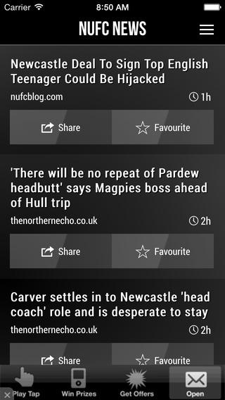 NUFC News App