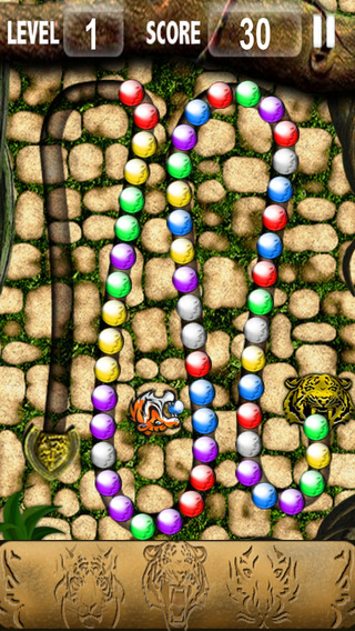 Tiger Balls Funny Puzzle Game كرات النمر ألعاب ألغاز