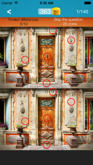 What's the Difference ~ spot the differences find hidden objects part 11