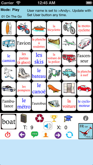 French Words 4 Beginners 1 - Pocket Edition FR4L2-1PE