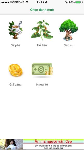 Giá Nông Sản - Thông tin giá cả thị trường cà phê hồ tiêu cao su Việt Nam