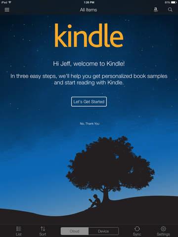 read pdf on kindle app iphone