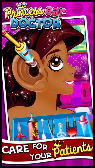 A Little Princess Ear Doctor Surgeon - A Crazy Virtual Casual Queen Care Surgery Spa Dressup Salon G