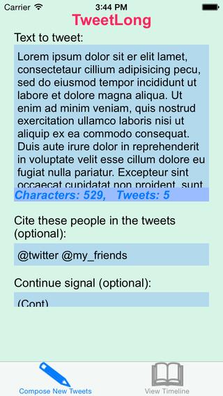 TweetLong