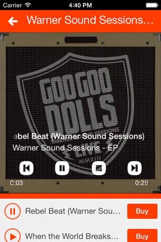 Goo Goo Dolls screenshot 3