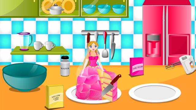 Cooking Game Princess Cake