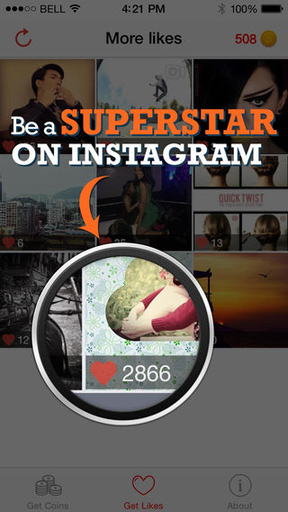 Morelikes Pro - Get More Real Likes, Shoutout Boost Easy and Fast for Instagram