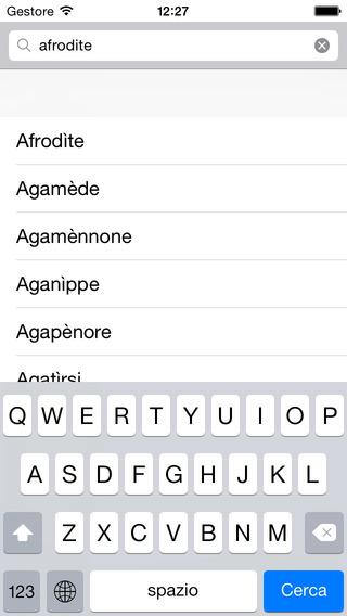 Mitologia iPhone Screenshot 2
