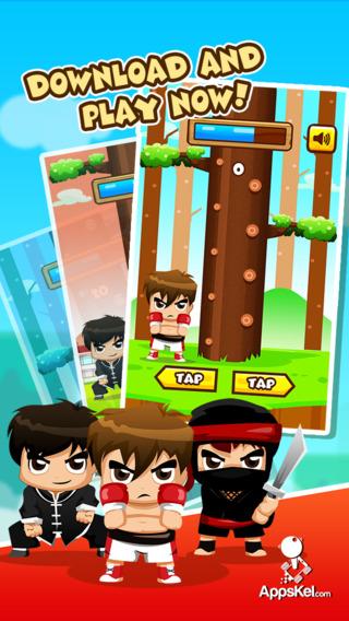 Lumberjack Warrior - Wood Chop Time Challenge Against Infinity Tree HD Free