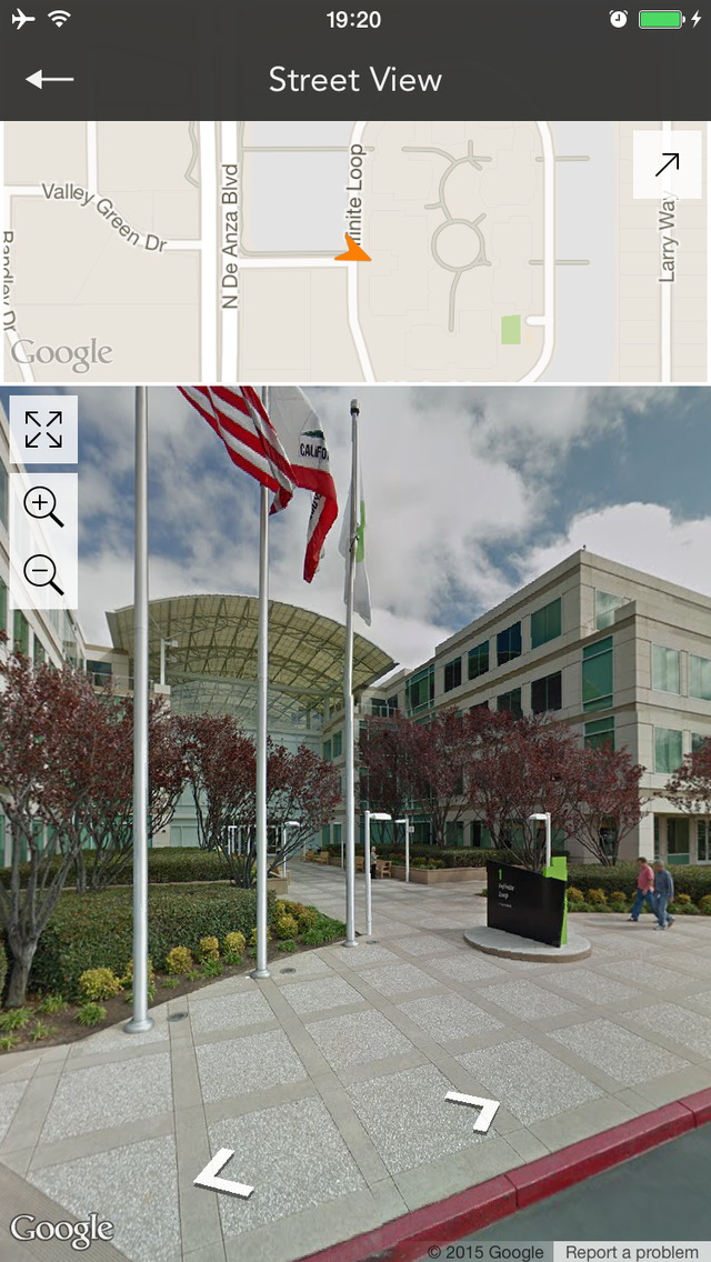 prev iMaps for Google Maps Street