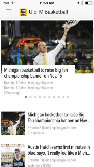 MLive.com: Michigan Wolverines Basketball News