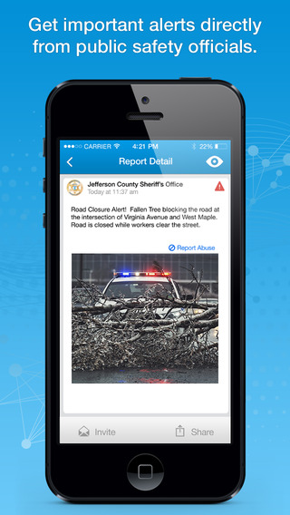 MobilePatrol: Stay safe and informed where you live work and play