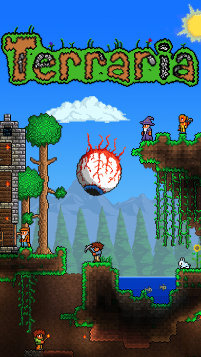 Screenshots of Terraria for iPhone