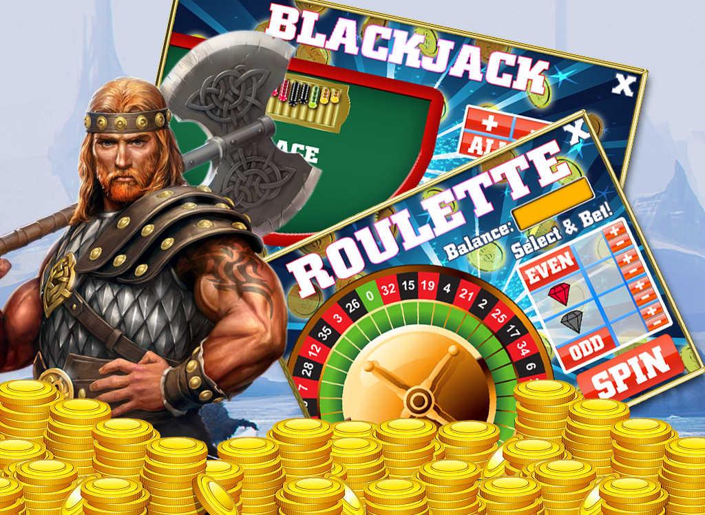 Vikings Treasure™ Slot Machine Game to Play Free in NetEnts Online Casinos