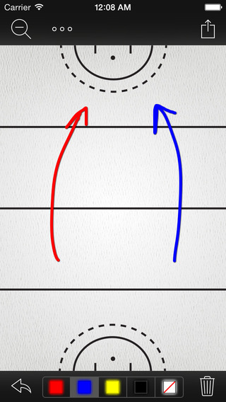 InfiniteFieldHockey Whiteboard : Field Hockey Whiteboard and Clipboard App for Coaches