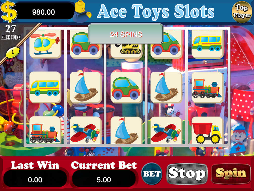 Toys R Us Slot Machines : App shopper aaa aace toys slots free game games