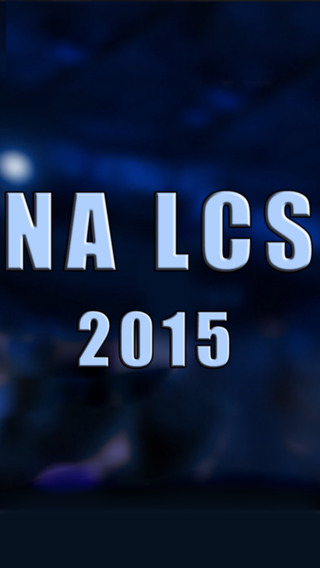 NA LCS LOL 2015 - lcs na for League of legends