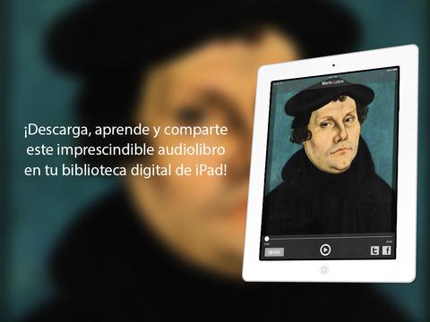 Martín Lutero: fundador de la rama protestante del cristianismo luterana iPad Screenshot 1