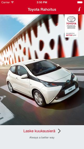 Toyota rahoituslaskin
