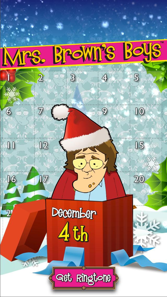 mrs brown 39 s boys advent calendar ios. Black Bedroom Furniture Sets. Home Design Ideas