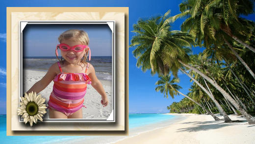 Beach Photo Frames Deluxe