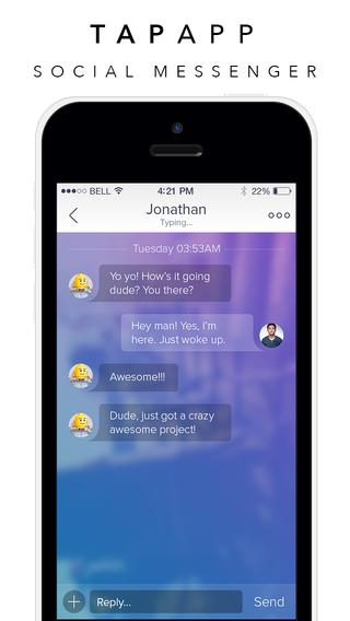 TapApp - Social Messenger