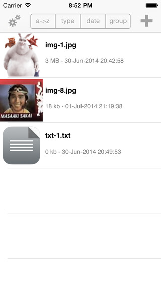 File Locker Free iPhone Screenshot 3