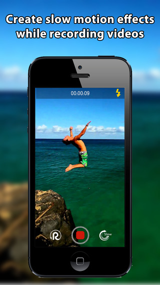 Slowlution - Real time slow motion Instant Replay Camera and Video Editor
