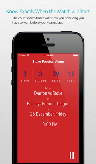 Stoke Football Alarm — News live commentary standings and more for your team