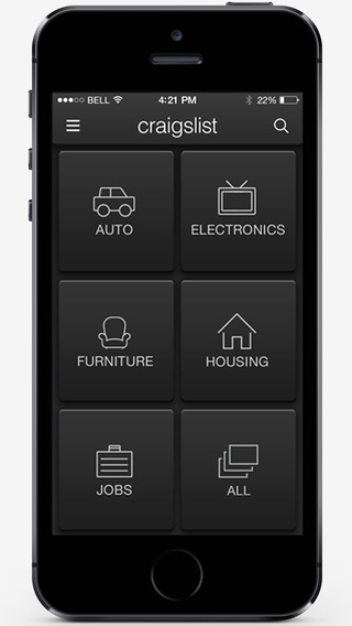 Scout for Craigslist - a free mobile Craigslist app for iPhone and iPad