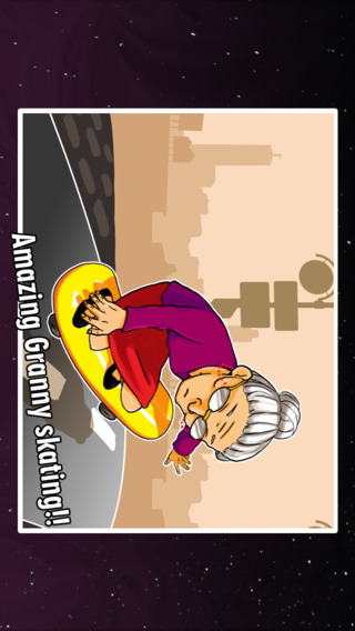 Amazing Skating Granny HD - The Oldest Fastest Racer Alive