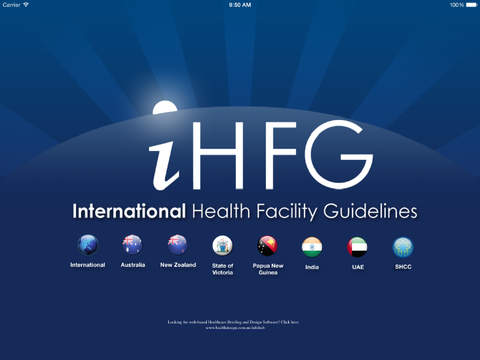 International Health Facility Guidelines iHFG PRO