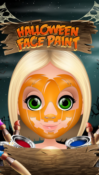 Halloween Face Paint - Paint the Kids Faces - Dress Up the Kids