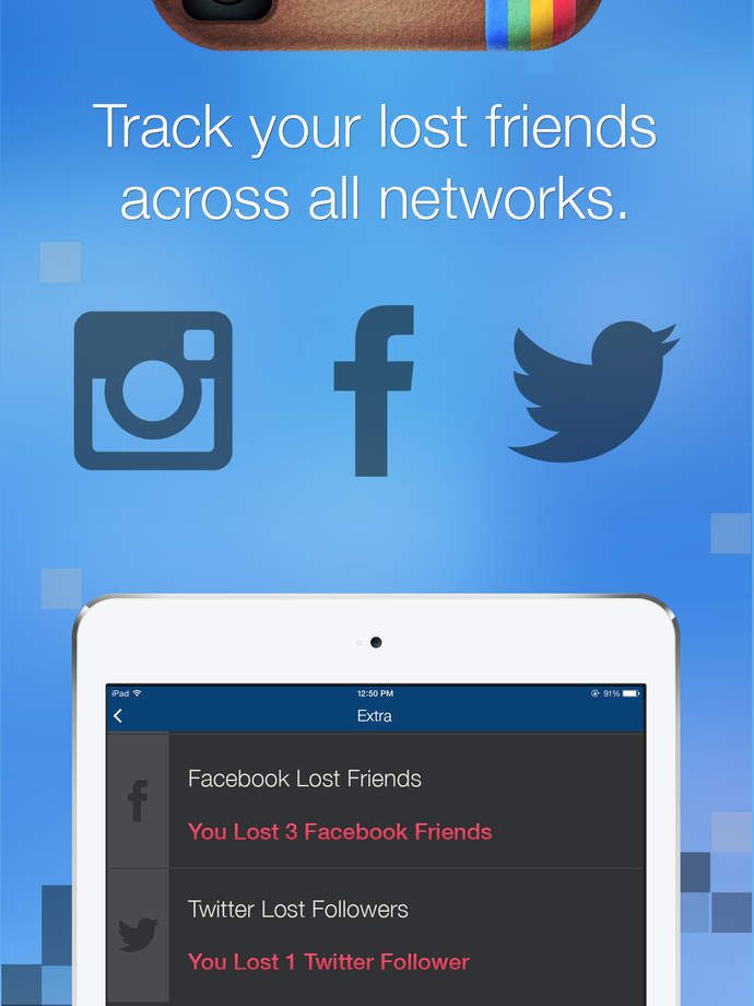 Followers + for Instagram - Follow Management Tool for iPhone, iPad, iPod - iPhone Mobile Analytics and App Store Data