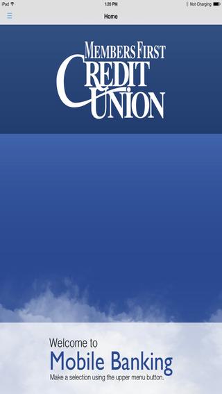 Members First Credit Union Utah Mobile Banking