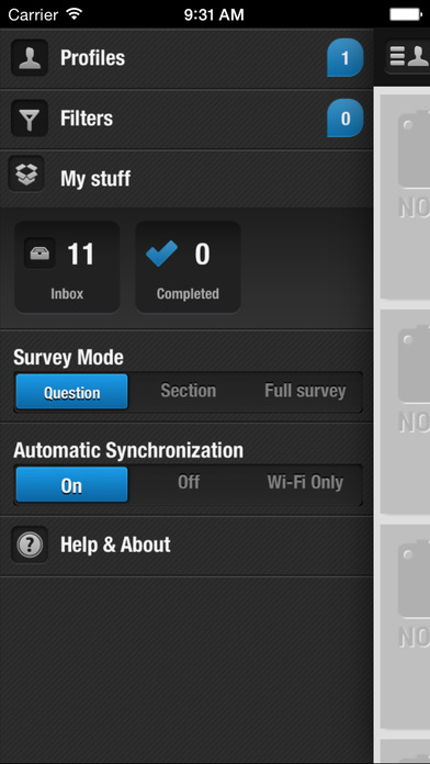 Helion Mobile research iPhone Screenshot 1