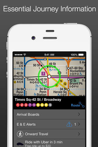 New York Subway MTA Map screenshot 2