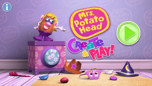 Mrs. Potato Head - Create Play: School Edition