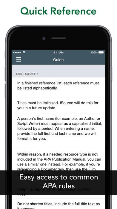 iSource APA iPhone Screenshot 3