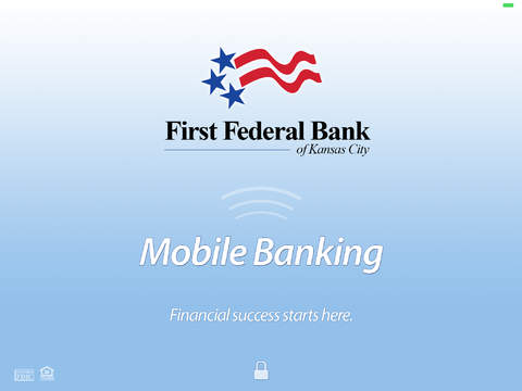 First Federal Bank Mobile App for iPad