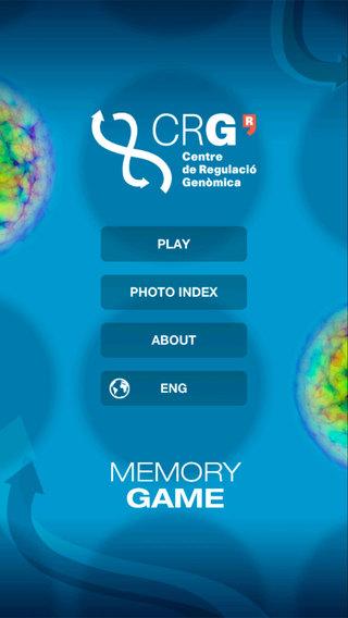CRG Memory Game