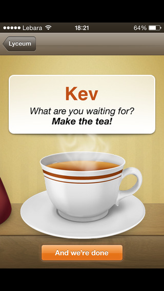 Tea Round iPhone Screenshot 5