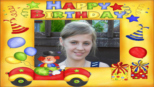 Birthday Photo Frames HD Deluxe