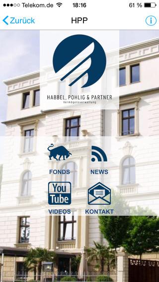 【免費商業App】Habbel, Pohlig und Partner Vermögensverwaltung-APP點子