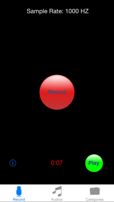 iRecord iPhone Screenshot 2