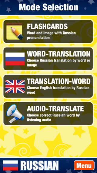 Learn Russian Words and Punctuation