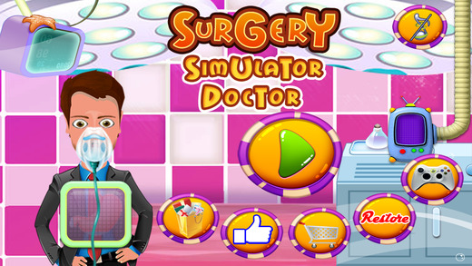 Surgery Simulator Doctor Dr Crazy Surgeon heart ear Operation Game