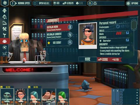 Cosmonautica Screenshot